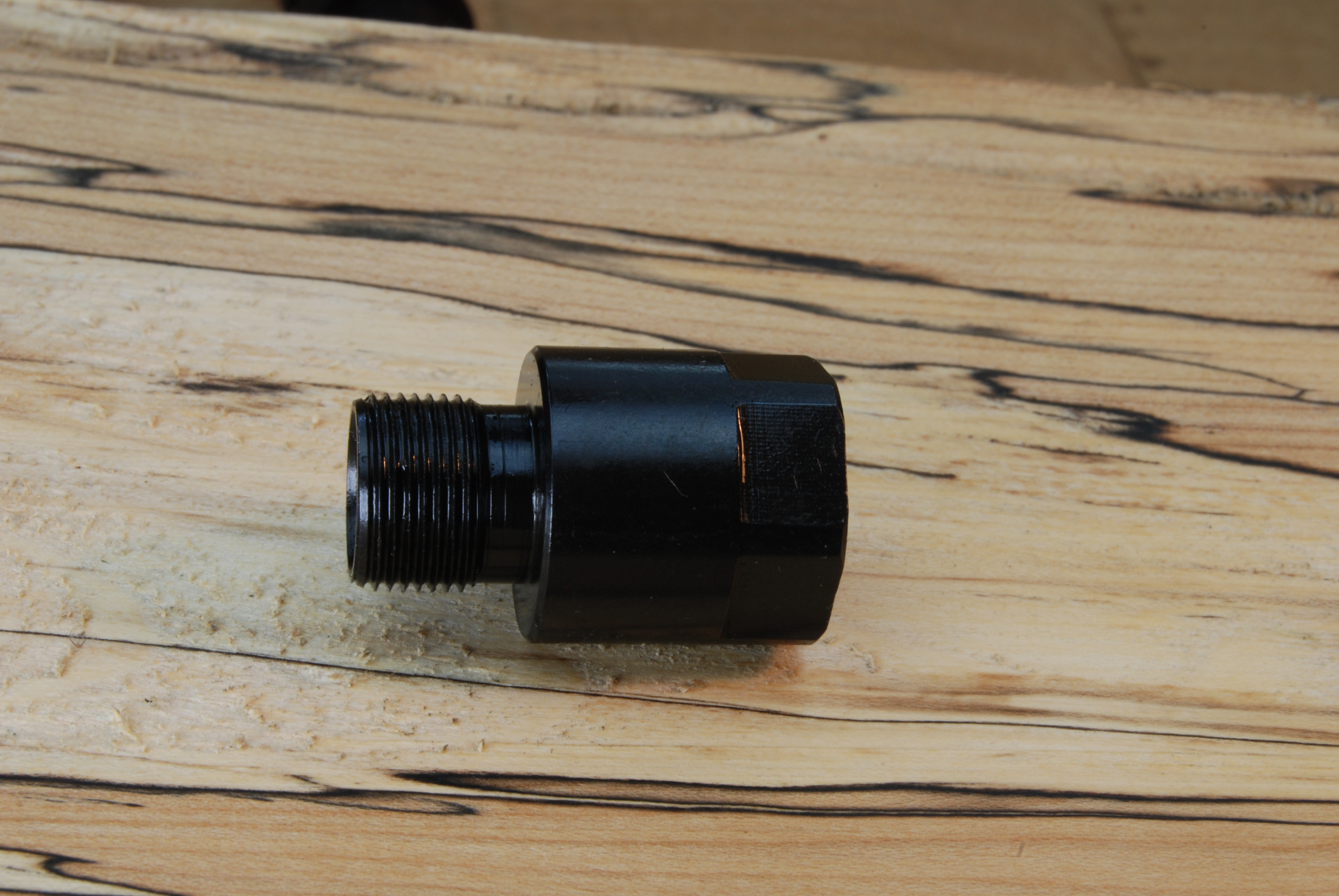 Metric to u s barrel adapter thread converter m